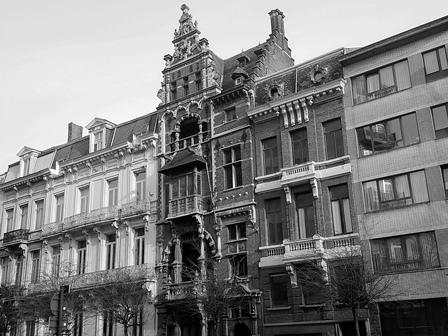 Referentie MONUMENTA BV (vennoten) - Huis 'Den Passer' - architectenwoning Jean Jacques Winders te Antwerpen, Tolstraat