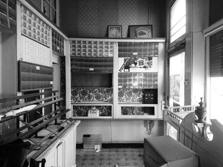 Referentie MONUMENTA BV (vennoten) - bouwhistorisch onderzoek van het winkelhuis Tabakswaren Meinertzhagen, Sint-Jorispoort - Antwerpen
